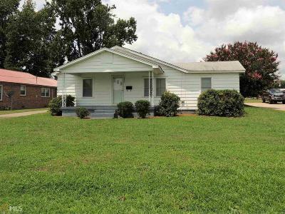 Elberton GA Single Family Home Under Contract: $54,900