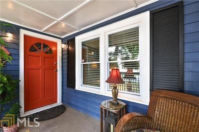 Marietta Single Family Home Under Contract: 139 Merritt St