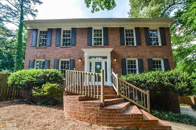 Marietta Single Family Home New: 3549 Meadow Chase