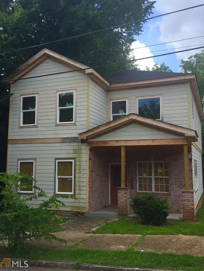 Atlanta Single Family Home New: 1371 George W Brumley