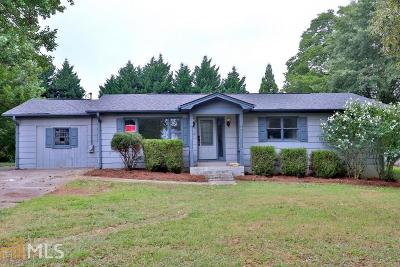 Loganville Single Family Home New: 626 Lee Byrd Rd