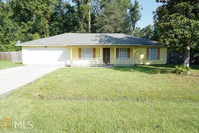 Kingsland GA Single Family Home New: $134,950