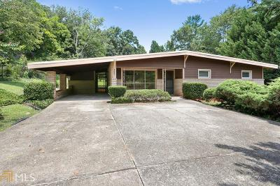 Roswell Single Family Home New: 327 N Coleman Rd