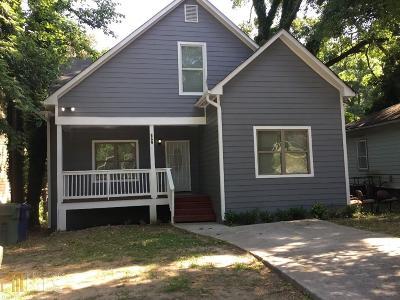 Atlanta Single Family Home New: 869 Hollywood Rd