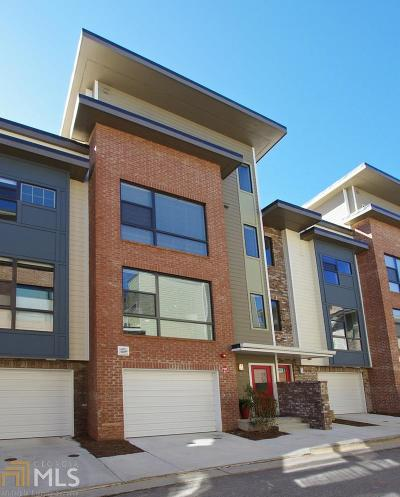Reynoldstown Condo/Townhouse For Sale: 987 Moda Dr