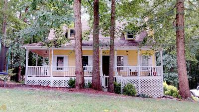 Douglasville GA Single Family Home Under Contract: $135,000