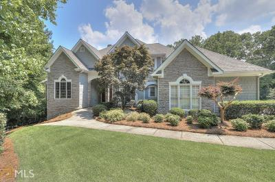 Marietta Single Family Home Under Contract: 3830 Wesley Chapel Rd