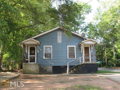 Griffin Single Family Home Under Contract: 216 Alabama St