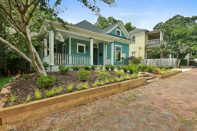 Atlanta Single Family Home New: 477 Glenwood