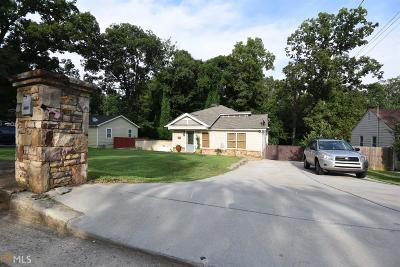 Atlanta Single Family Home New: 5835 Pine Road