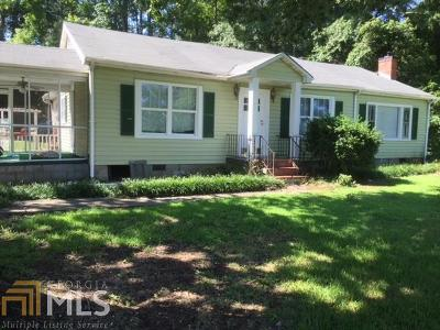 Griffin Single Family Home Under Contract: 1620 Williamson Rd