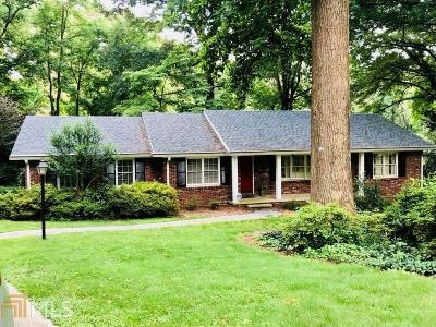 Chamblee Single Family Home New: 3033 Nottaway Ct