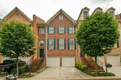 Dekalb County Condo/Townhouse New: 1260 Dunwoody Cv