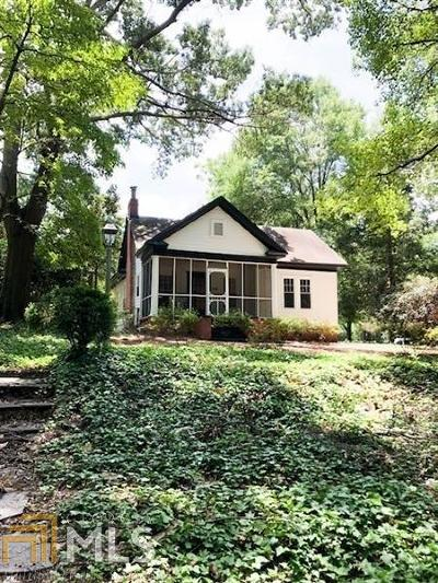Historic Marietta Single Family Home For Sale: 359 Whitlock Ave