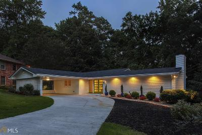Atlanta Single Family Home New: 2365 Briarcrest Trl