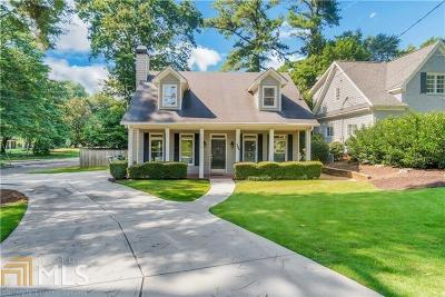 Atlanta Single Family Home New: 396 Carolwood Lane