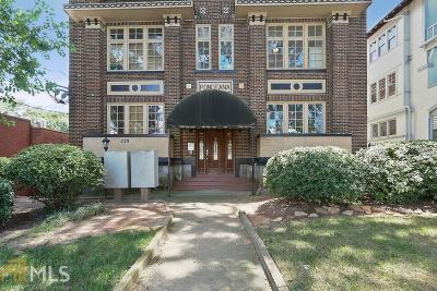 Atlanta Condo/Townhouse New: 229 Ponce De Leon Ave. Avenue NE #7