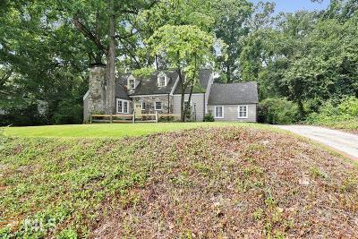 Atlanta Single Family Home New: 3574 Cantrell Rd