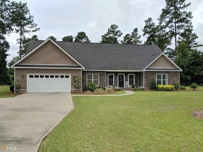 Brooklet Single Family Home For Sale: 301 Treasure Blvd