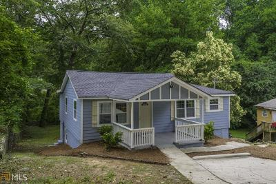 Atlanta Single Family Home New: 2339 Tiger Flowers Dr NW