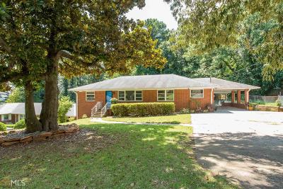 Hapeville Single Family Home New: 3268 Lavista Dr