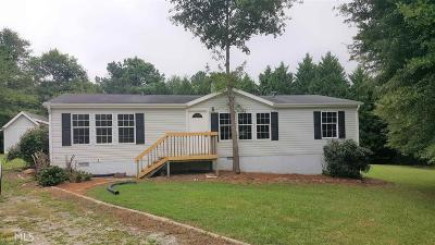 Loganville Single Family Home Under Contract: 3454 Deerfield Rd