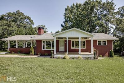 Alpharetta Single Family Home Under Contract: 245 Brooke