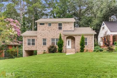 Fulton County Single Family Home New: 2293 Delowe Dr