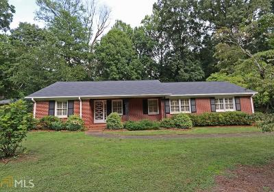 Historic Marietta Single Family Home For Sale: 407 Talcott Cir