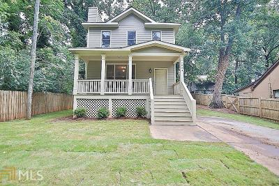 Fulton County Single Family Home New: 2004 Pryor Rd