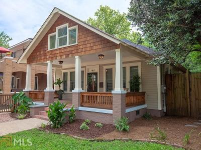 Atlanta Single Family Home New: 467 Felton Drive NE