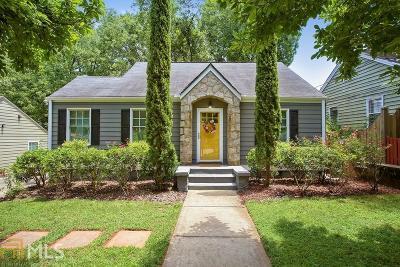 Atlanta Single Family Home New: 920 Stallings Ave