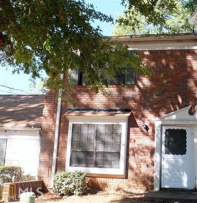 Clayton County Condo/Townhouse New: 6595 Sleepy Hollow Ln