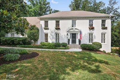 Atlanta Single Family Home New: 7000 Hunters Knoll