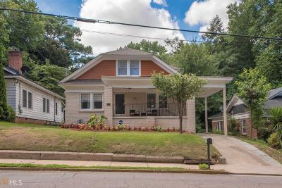 College Park Single Family Home New: 1854 Lyle Ave