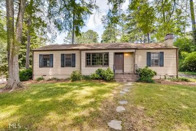 Roswell Single Family Home New: 365 Pine Grove Road