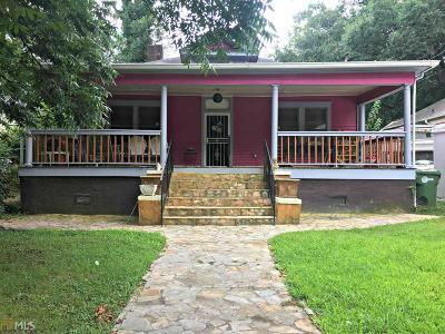 Atlanta Single Family Home New: 662 Brookline