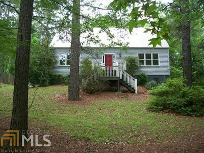 Milledgeville Single Family Home New: 3027 Heritage Rd