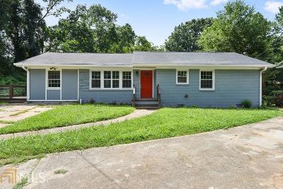 Dekalb County Single Family Home New: 3167 Bonway Dr