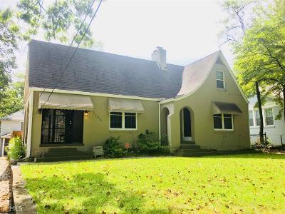 Fulton County Single Family Home New: 3124 Dogwood Dr