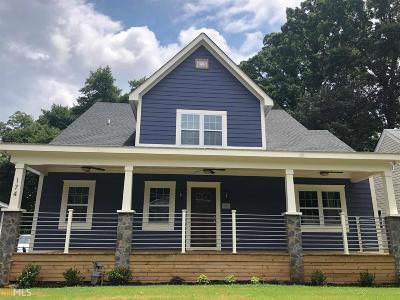 Atlanta Single Family Home New: 174 Clifton St