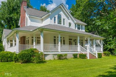 Dawsonville Single Family Home For Sale: 2095 War Hill Park Rd
