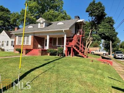 College Park Single Family Home New: 3253 Lowe St