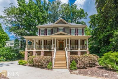 Atlanta Single Family Home New: 298 Tall Oaks Drive NE