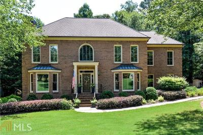 Roswell Single Family Home Back On Market: 5930 Plantation Dr
