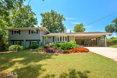 Avondale Estates Single Family Home Under Contract: 1121 Chatsworth Dr