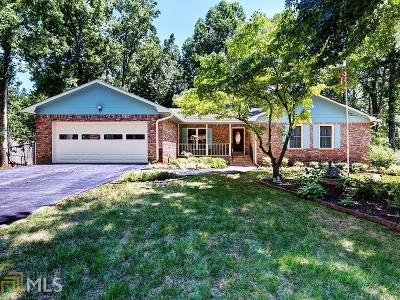 Douglasville Single Family Home Under Contract: 6750 Crestbrook Ln