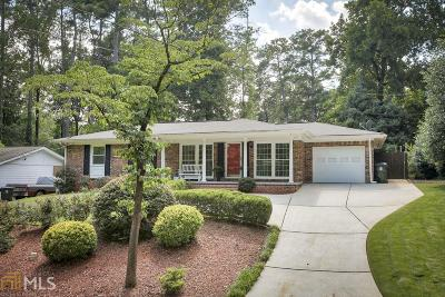 Dekalb County Single Family Home New: 3886 Admiral Dr