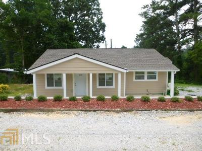 Dallas Single Family Home For Sale: 3032 Dallas Acworth