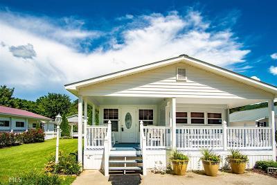 Hiawassee Single Family Home For Sale: 4321 Riverbank Run #21/22